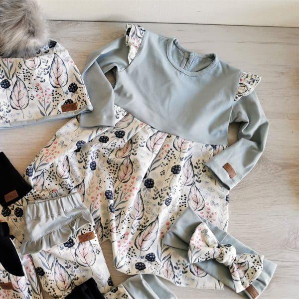 Mädchen Kleid Muster