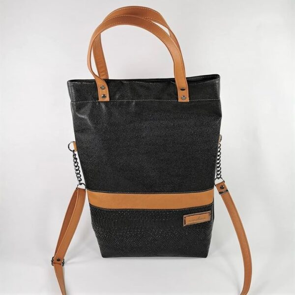 Tasche grosse braun schwarz